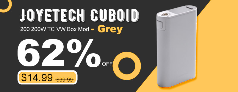 Joyetech Cuboid 200 200W TC VW Box Mod - Grey