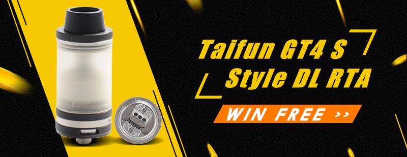 Taifun GT4 S Style DL RTA Giveaway