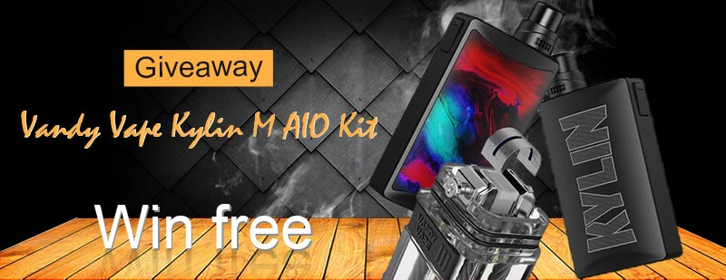 Vandy Vape Kylin M AIO Kit Giveaway