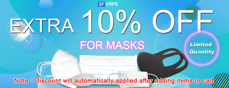 Anti Covid-19 Mask KN95 10% Off