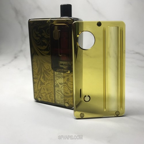Replacement Front + Back Door Panel Plates for dotMod dotAIO Vape Pod System - four colors available
