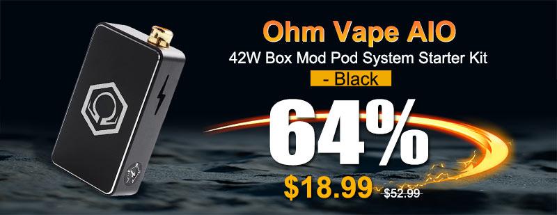 Ohm Vape AIO 42W Black