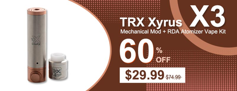 [Image: TRX-Xyrus-X3-Mechanical-Mod-RDA-Atomizer-Vape-Kit.jpg]