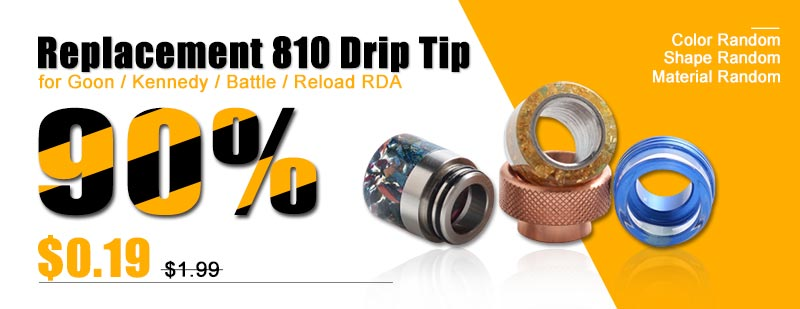Replacement-810-Drip-Tip-for-Goon--Kennedy--Battle--Reload-RDA