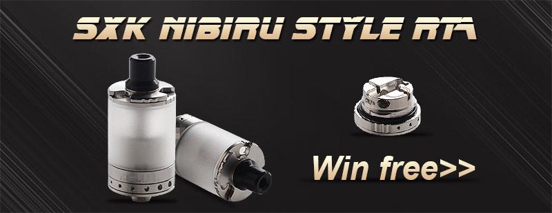 SXK Nibiru Style RTA Giveaway