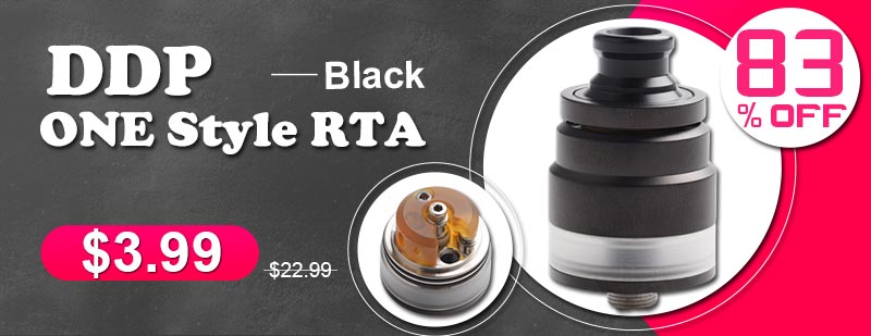 DDP ONE Style RTA Black Flash Sale