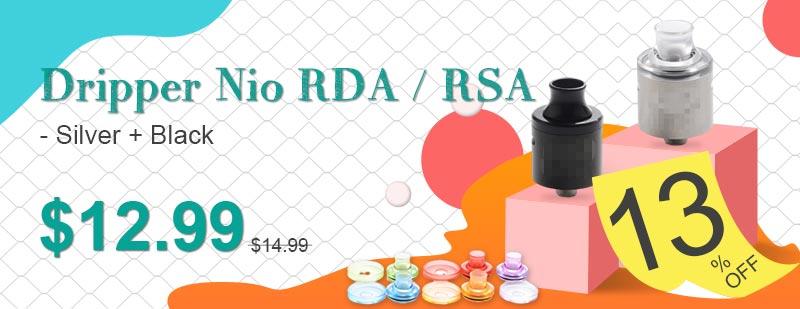 Dripper-Nio-RDA--RSA---Silver-+-Black