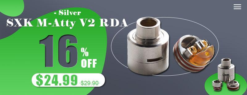 SXK M-Atty FYF M-Atty V2 Style RDA Flash Sale