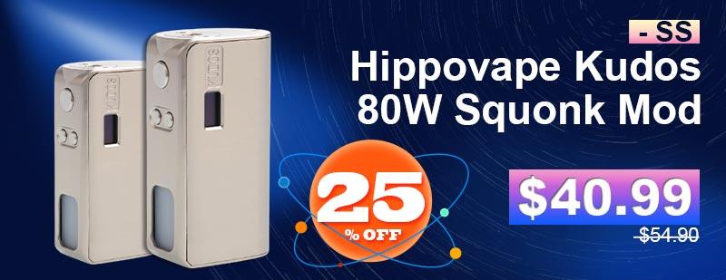 Hippovape-Kudos-80W-Squonk-Mod---SS