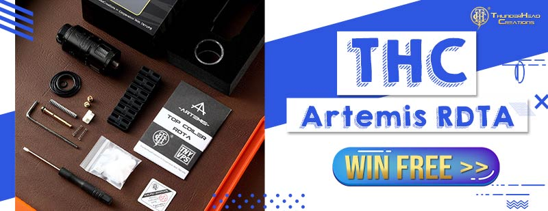 THC Artemis RDTA Giveaway