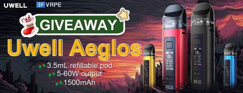 Uwell Aeglos Giveaway