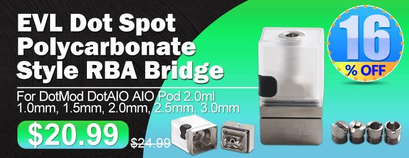 EVL Dot Spot Polycarbonate Style RBA Bridge