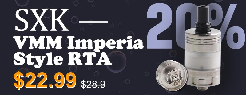 SXK VMM Imperia Style RTA Flash Sale