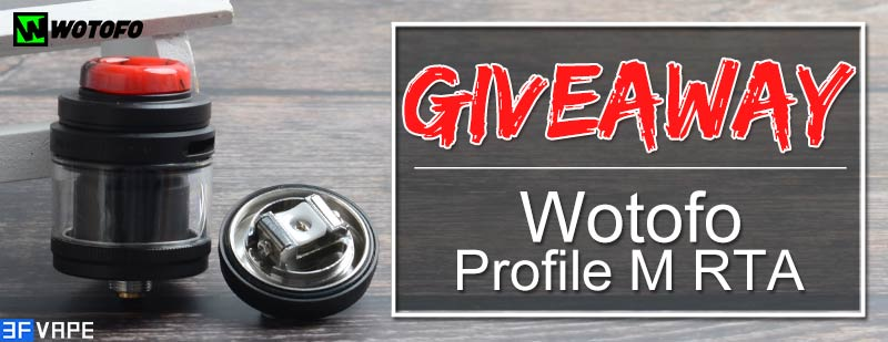Wotofo Profile M Mesh Coil 24mm RTA Giveaway