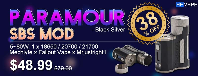 Paramour SBS Mod Black Silver Flash Sale