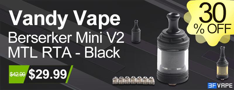 Vandy Vape Berserker Mini V2 MTL RTA - Black