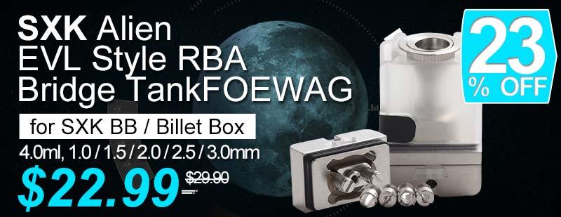 SXK Alien EVL Style RBA Flash Sale