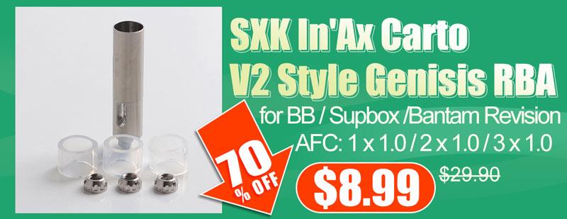 SXK In'Ax Carto V2 Style RBA Flash Sale