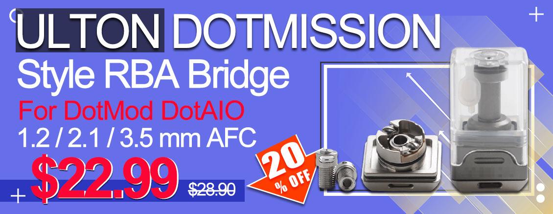 ULTON DotMission Style RBA Bridge for DotAIO Flash Sale