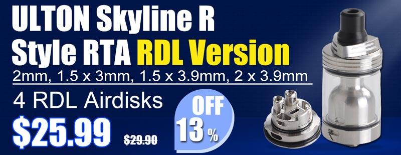 ULTON Skyline R Style RTA RDL Flash Sale