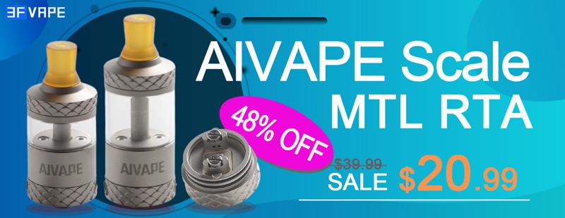 AIVAPE Scale MTL RTA Flashsale