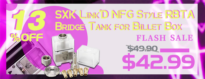 SXK Link'D NFG Style RBTA Bridge Tank for Billet Box