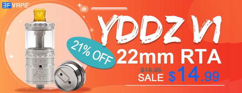 YDDZ V1 22mm RTA Flashsale