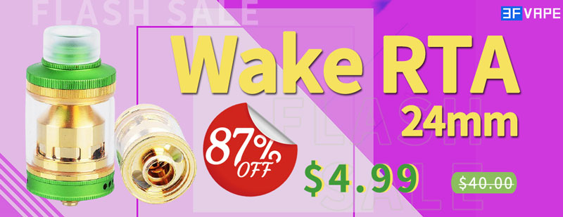 Wake RTA Green Flash Sale