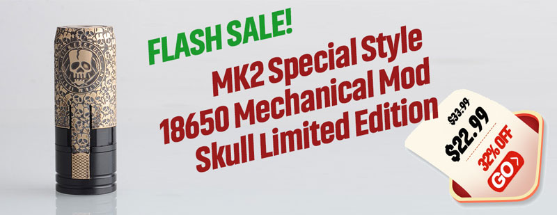 MK2 Special Mechanical Mod Skull Limited Edition Flash Sale